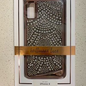 Casemate Brilliance Lace iPhone X case